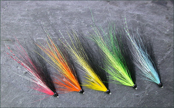 Blackback salmon tube flies