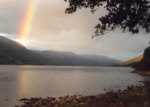 Loch Earn - trout fishing on the south shore.