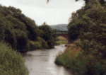 River Allan Association water at Kinbuck - good fly fishing water for salmon and sea trout fishing.