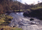 River Carron - a nice trout pool in the glen.