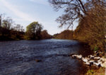 River Teith - Salmon fishing in the shadow of Doune castle.