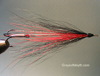 Needle Fly - Black and Red
