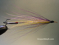 Needle Fly - Purple and Yellow
