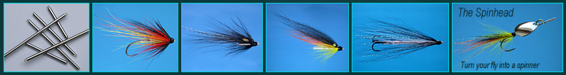 SALMON TUBE FLIES