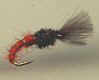 Trout Nymph - Orange Shuttlecock Buzzer