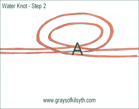 Water Knot - step 2
