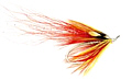The Red Flamethrower salmon fly