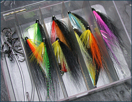 Wee Monkey Tube Fly Selection