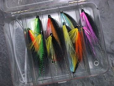 Wee Monkey Salmon Fly Selection