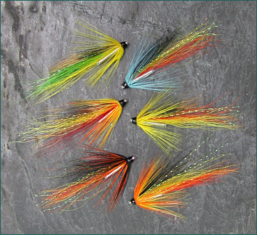 Spey Shrimp Salmon Fly Selection