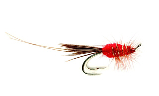 Red Francis salmon Fly