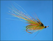 Highlander Flamnethrower salmon fly
