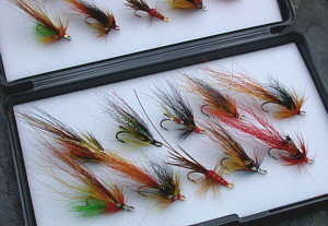 """Modern Classics"" Salmon Fly Selection"