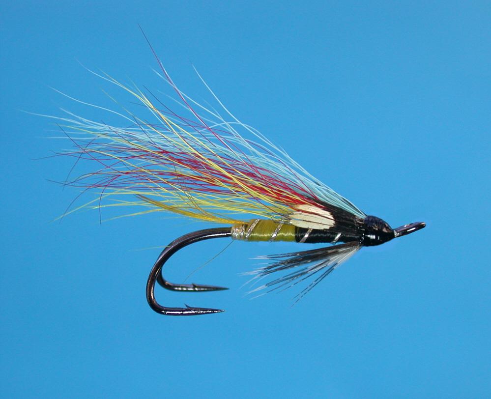 Scottish salmon flies for Salon fly