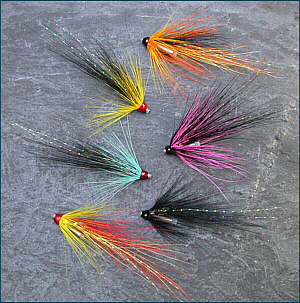 Salmon Tube Fly Selections
