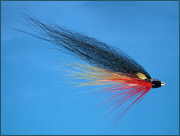 A Wee Monkey salmon tube fly