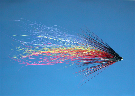 Blue Cascade Salmon Tube Fly