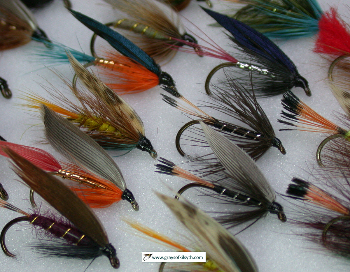 Waterproof Fly Box Rainbow Trout and Salmon Fishing Flies Suitable for Trout