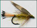 Woodcock and Yellow sea trout fly