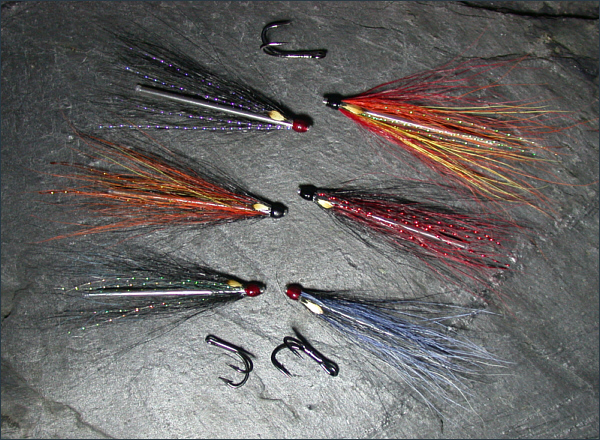 sea trout needle tube fly selection