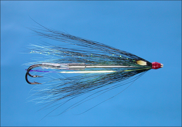 Grays Needle Tube Fly - Black and Blue