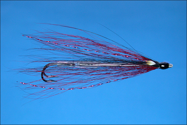 Grays Needle Tube Fly - Black and Red