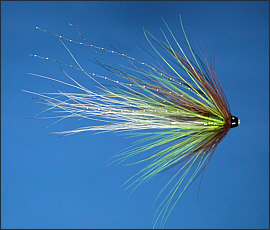 The Spring Green Salmon Tube Fly